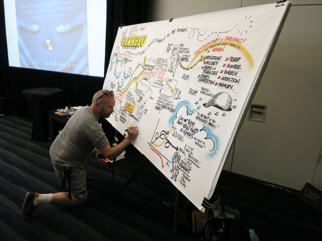 Graphic Recording Ikone Anthony Weeks