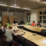 Die Meetup-Runde: Allerlei beschrieben, bemaltes, besketchtes Material