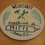 Werkstatt vizthink.de Mitte Meetup #5 - Kappaplatte