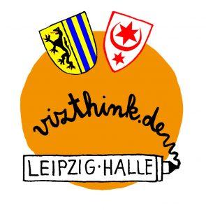 Logo Vizthink-Meetup Leipzig/Halle