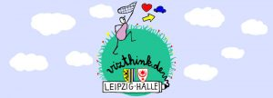 """Logo Meetup Halle/Leipzig """"Symboljagd"""