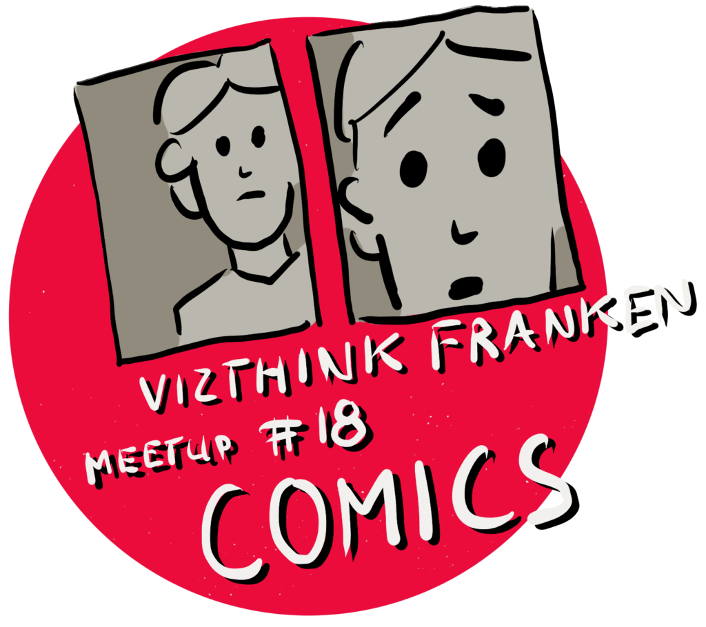 Logo Vizthink Franken Meetup #18 – Comic