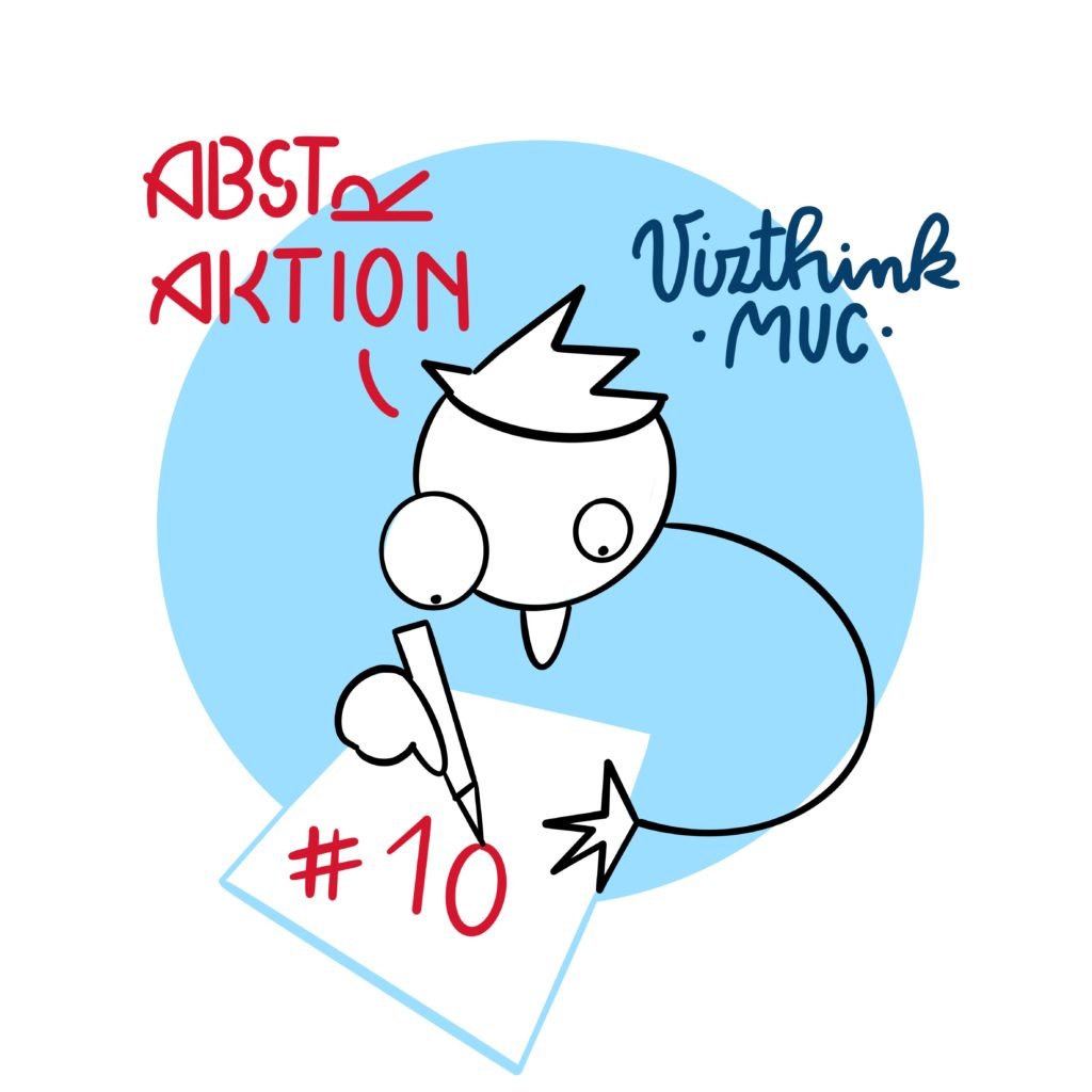 Logo vizthink#10 Abstraktion