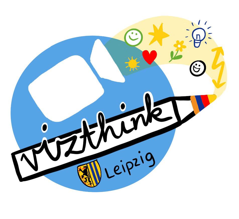 VizThink-Piktogramm mit Zoom-Icon